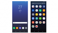 samsung galacy s8 design icons