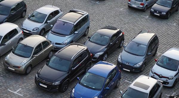 parkering bil i google maps