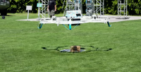 amazon prime air drone levering
