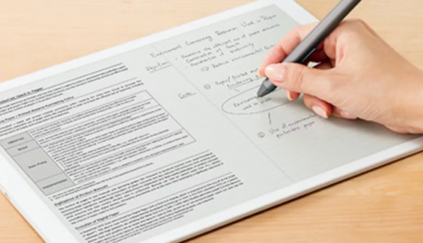 Ny kæmpe e-ink paper tablet fra Sony