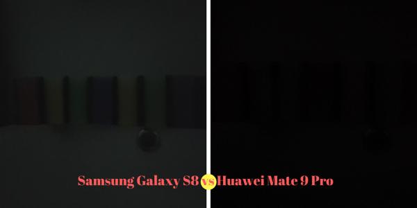 Samsung Galaxy S8 vs Huawei Mate 9 Pro