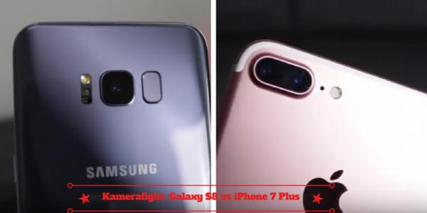 bedste kamera galaxy s8 vs iphone 7 plus