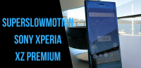 sony xz permium super slowmotion video