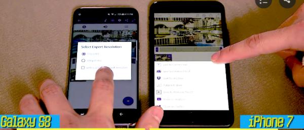 Hvilken mobil er hurtigst – Samsung Galaxy S8 eller iPhone 7?
