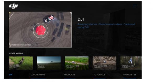 DJI klar med app til Samsung Smart TV og Apple TV