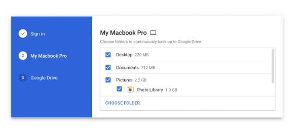 google drev backup af computer