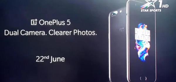 OnePlus 5 i tv-reklame