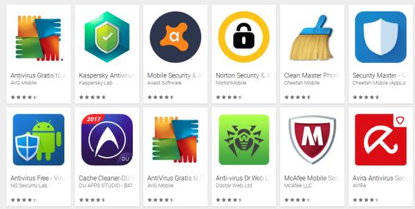 Masser af falske og farlige antivirus apps i Google Play