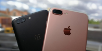 oneplus 5 vs iphone 7 plus bokeh duel dual kamera