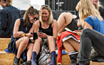 Strøm på mobilen er vigtigere end yndlingskunstneren på festivalen