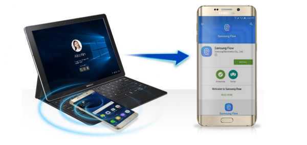 Med Samsung Flow kan du låse Windows 10 PCere op med telefonen