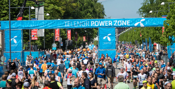 Telenor Copenhagen Marathon – få din afslutning på video