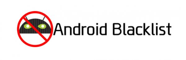 blacklist apps
