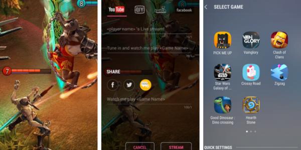 Samsung kommer med Game Live Streaming-app til Android