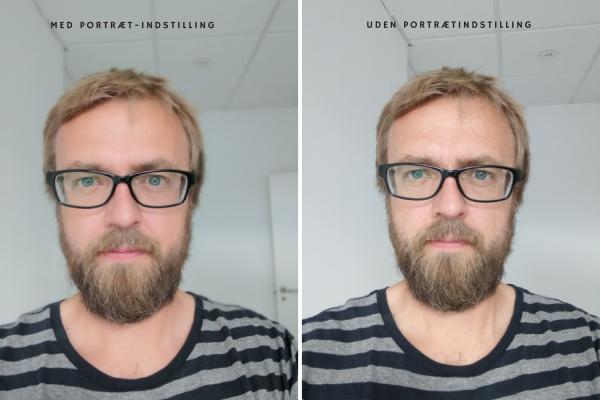 honor 9 kamera test selfie portræt