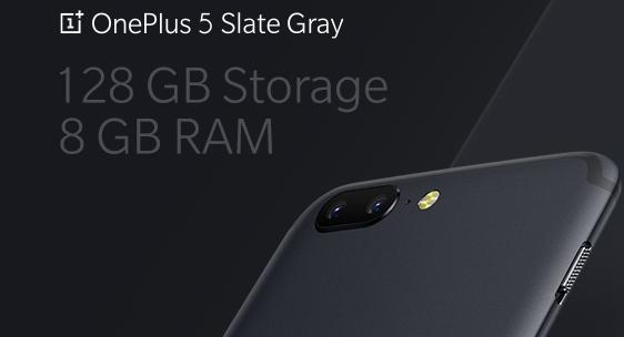 OnePlus 5 klar med 8 GB RAM og 128 GB hukommelse