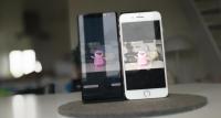 note 8 vs iphone 7 plus dual kamera bokeh test