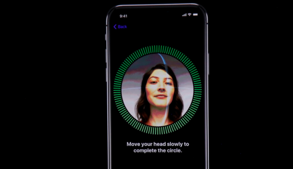 face id på iphone x