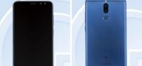 huawei mobil med dual kamera front