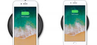 trådløs opladning til iphone 8