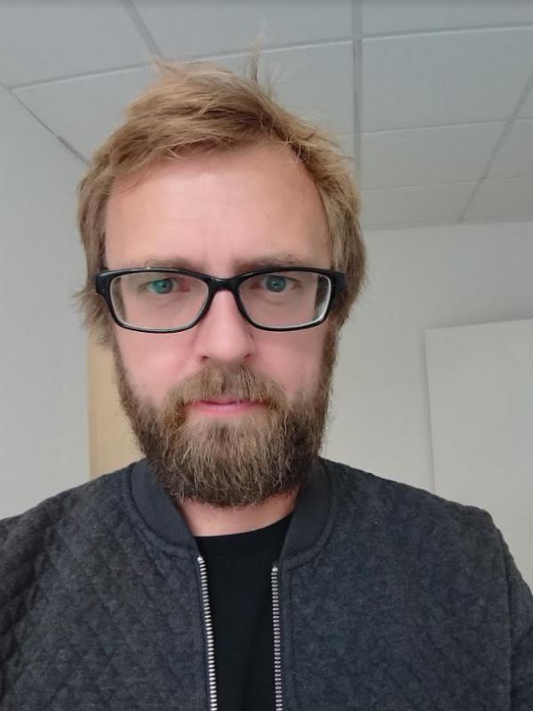 test af kamera i sony xperia xz1 - selfie