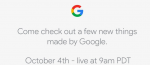 Live video streaming fra Googles Pixel 2 event