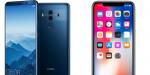 Huawei Mate 10 Pro vs iPhone X: Specifikationer og pris
