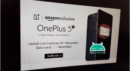 Salgsdato for OnePlus 5T lækket på kinesisk site – men kommer den til Danmark?