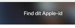 Glemt brugernavn og kode til Apple ID? Dette kan du gøre