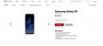 Microsoft sælger Galaxy S8 på deres webshop