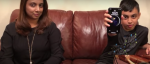 Søn låser sin mor iPhone X (10) op med Face ID