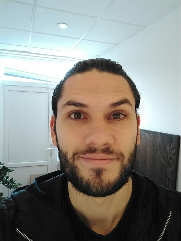 Test af Moto X4 selfie