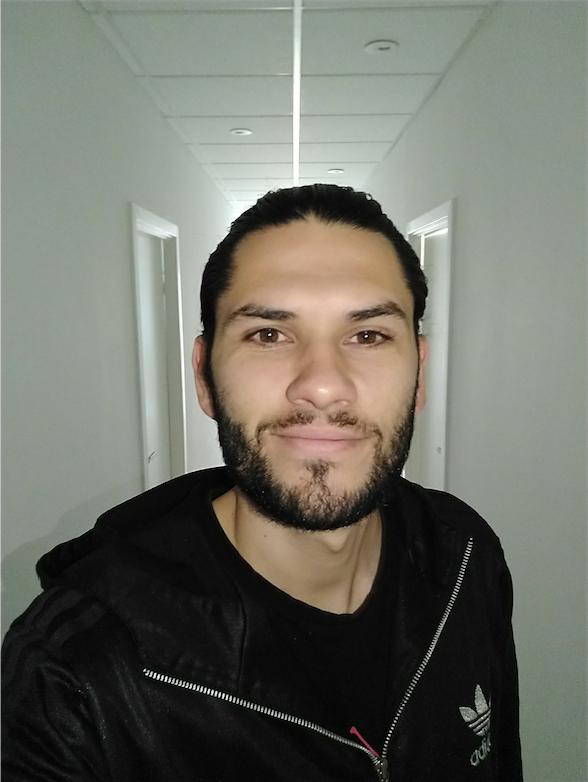 test af moto X4 selfie blitz