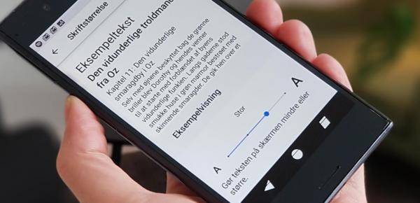 tekst android ios