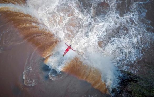 bedste luftfotos drone 2017