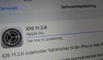 Apple klar med iOS 11.2.6 for at fixe alvorlige crash
