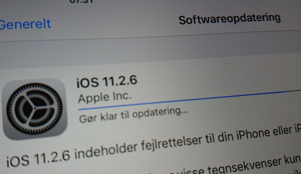 ios 11.2.6 opdatering