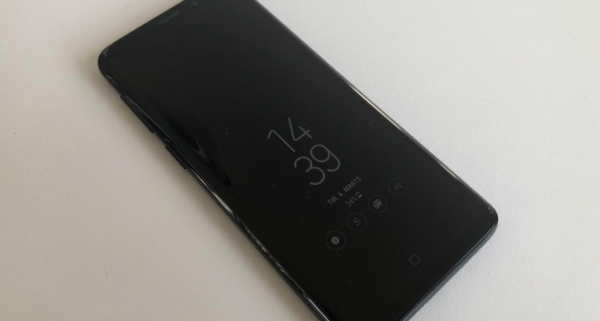 test anmeldelse samsung galaxy s9 4