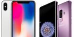 Samsung Galaxy S9 vs iPhone X – 2.600 kroner til forskel