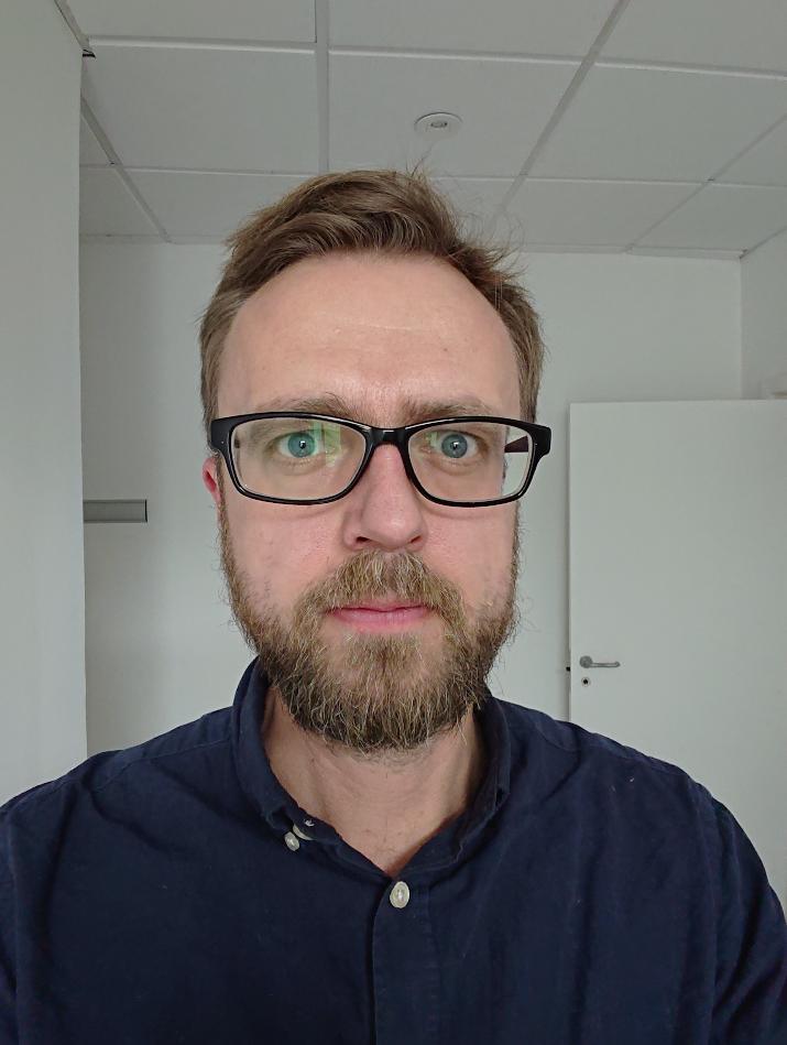 test af kamera i sony xperia xz2 compact selfie