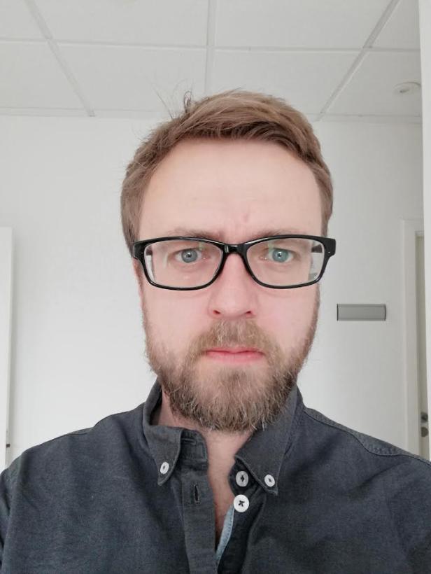 test anmeldelse kamera selfie huawei p smart