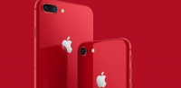 iPhone 8 og iPhone Plus (PRODUCT)RED Special Edition