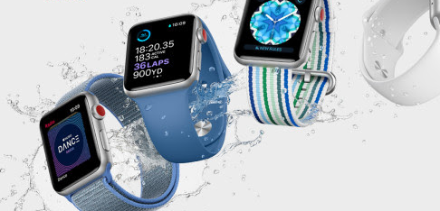 Apple Watch Series 3 med 4G pris