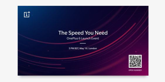 oneplus 6 lancering 16. maj