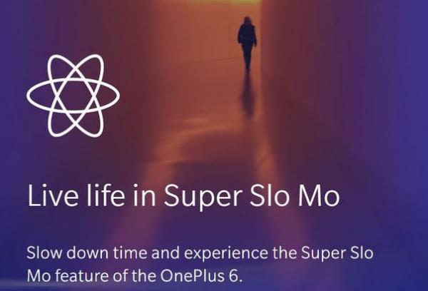 OnePlus 6 får videokamera med super slow motion