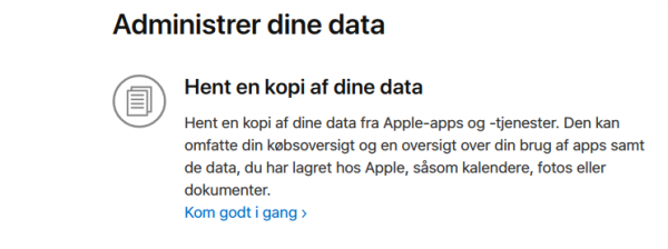 apple data privacy download