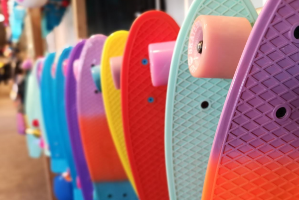 huaawei p20 pro bokeh blomst skateboard