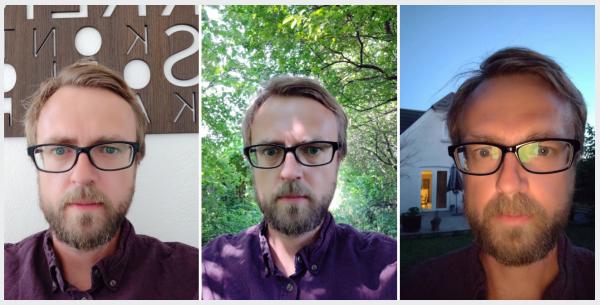 OnePlus 6 selfie
