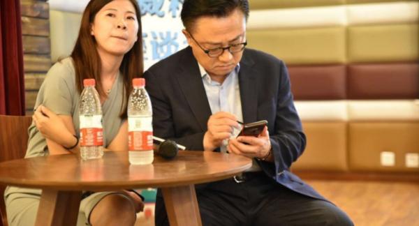 Samsung Galaxy Note 9 spottet i levende live