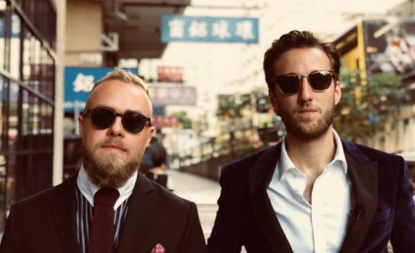 I Kina det godt rejseprogram Peter Falktoft og Esben Bjerre YouSee Comedy